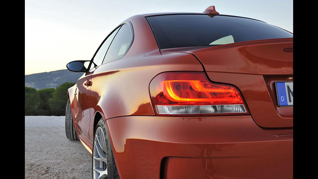 BMW 1er M Coupé, Rückleuchte
