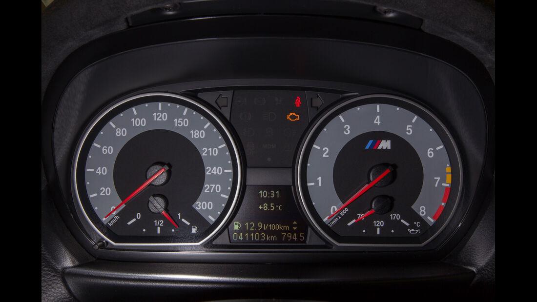 BMW 1er M Coupé, Rundinstrumente