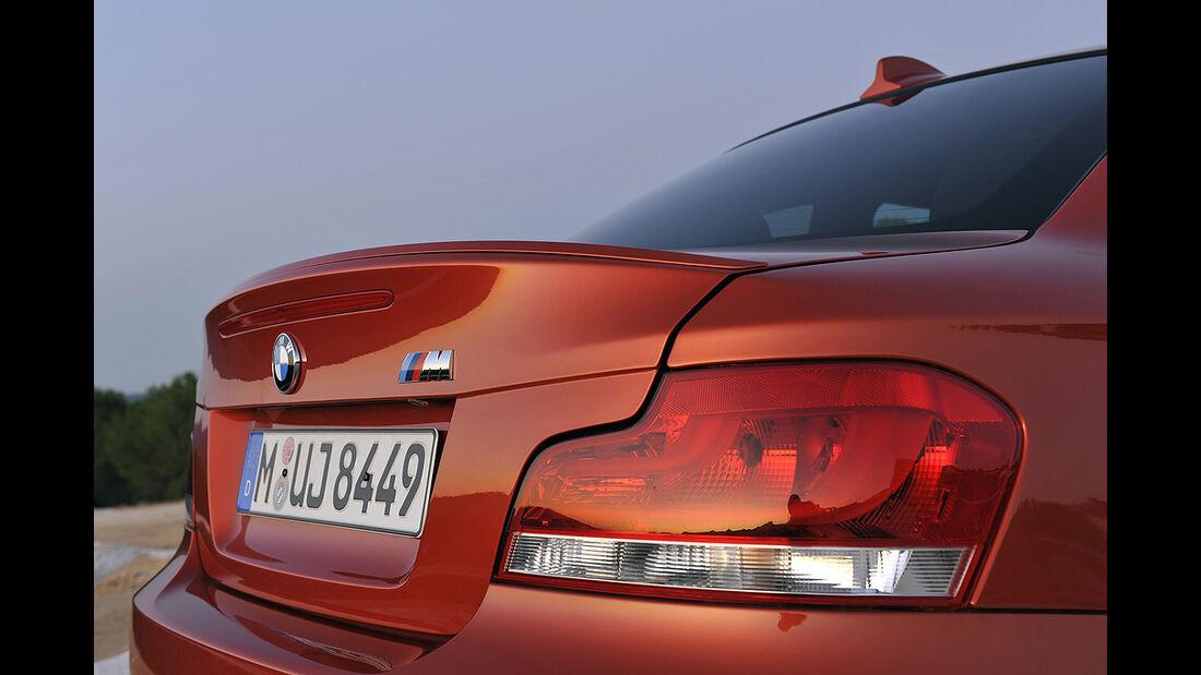 BMW 1er M Coupé, Spoiler