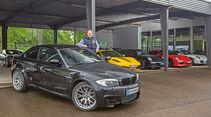 BMW 1er M Coupé, Verkaufsraum