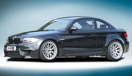 BMW 1er M Coupé mit H&R Sportfedernsatz