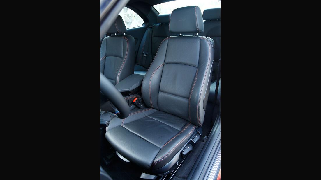 BMW 1er M Coupe, Fahrersitz
