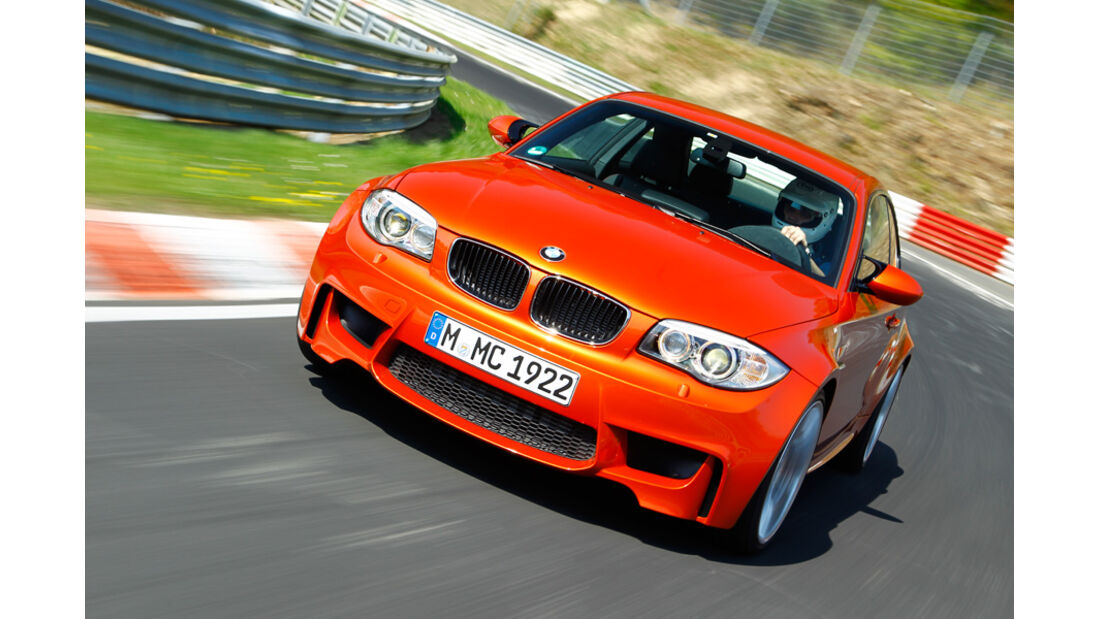 BMW 1er M Coupe, Frontansicht
