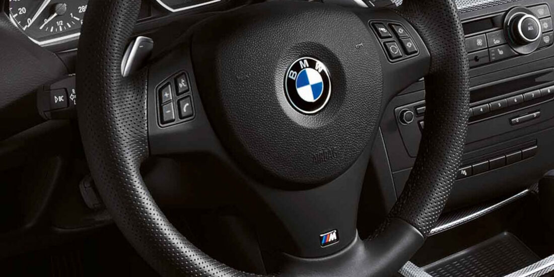BMW 1er, M-Lederlenkrad