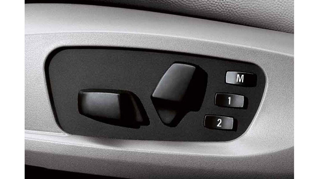 BMW 1er, Sitzverstellung elektrisch