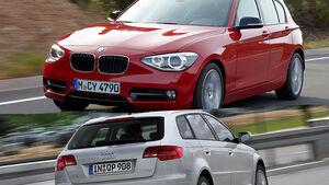 BMW 1er gegen Audi A3