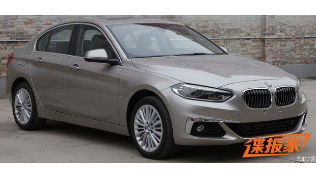 BMW 1er leaked China