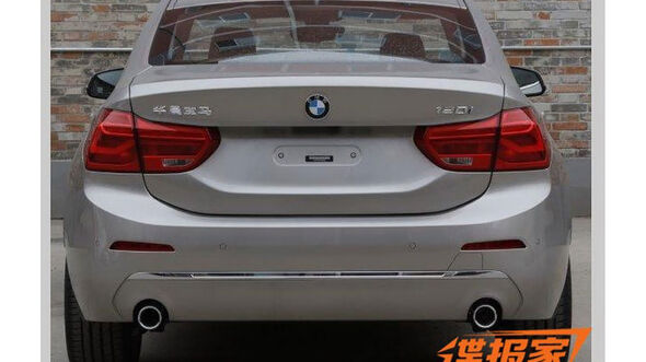 BMW 1er leaked China