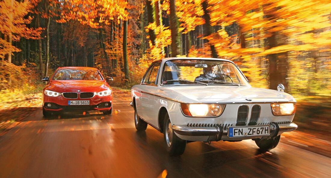 BMW 2000 C, BMW 430d, Impression