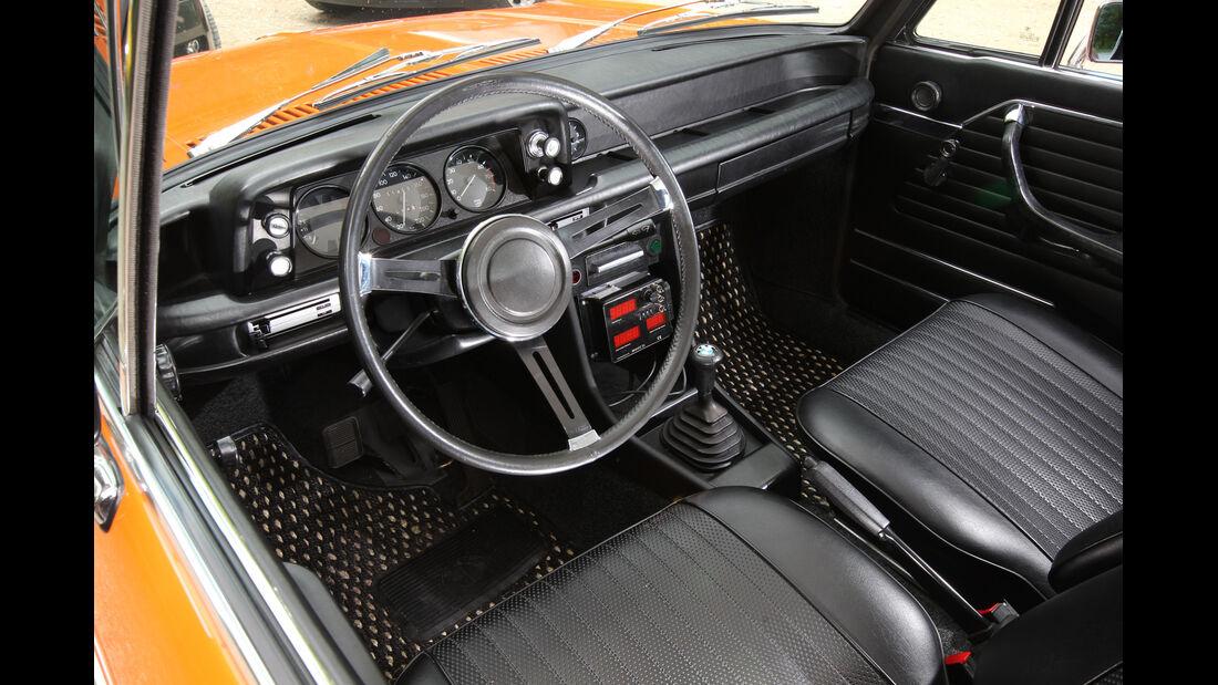BMW 2002, Cockpit, Lenkrad