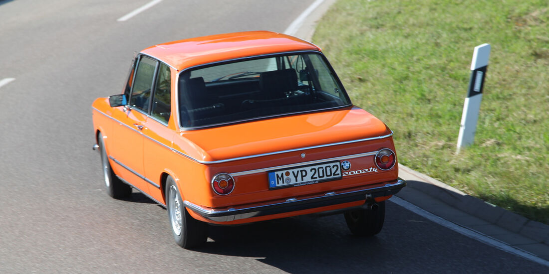 BMW 2002, Heckansicht