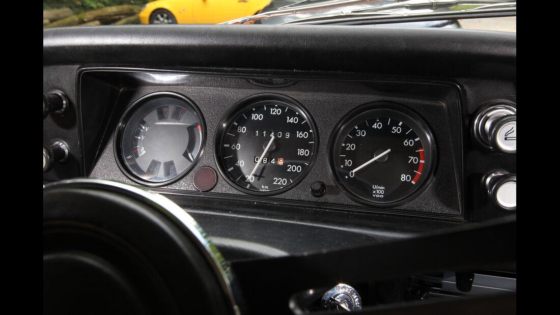 BMW 2002, Rundinstrumente