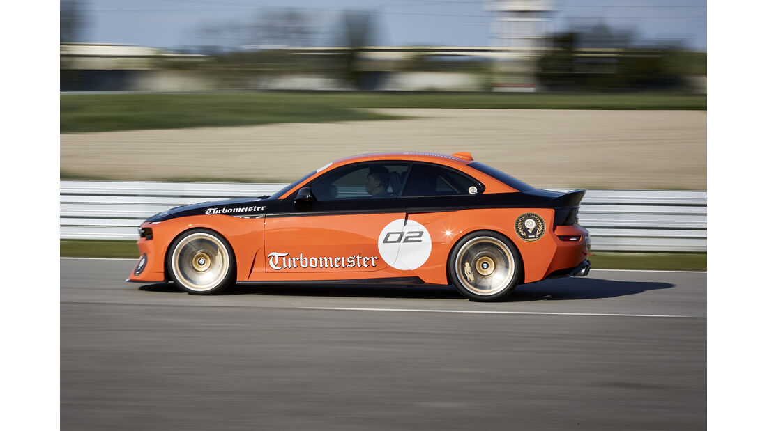 BMW 2002 Turbomeister Hommage, Exterieur