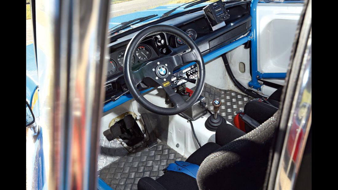 BMW 2002 ti Rallyeversion, Cockpit, Lenkrad