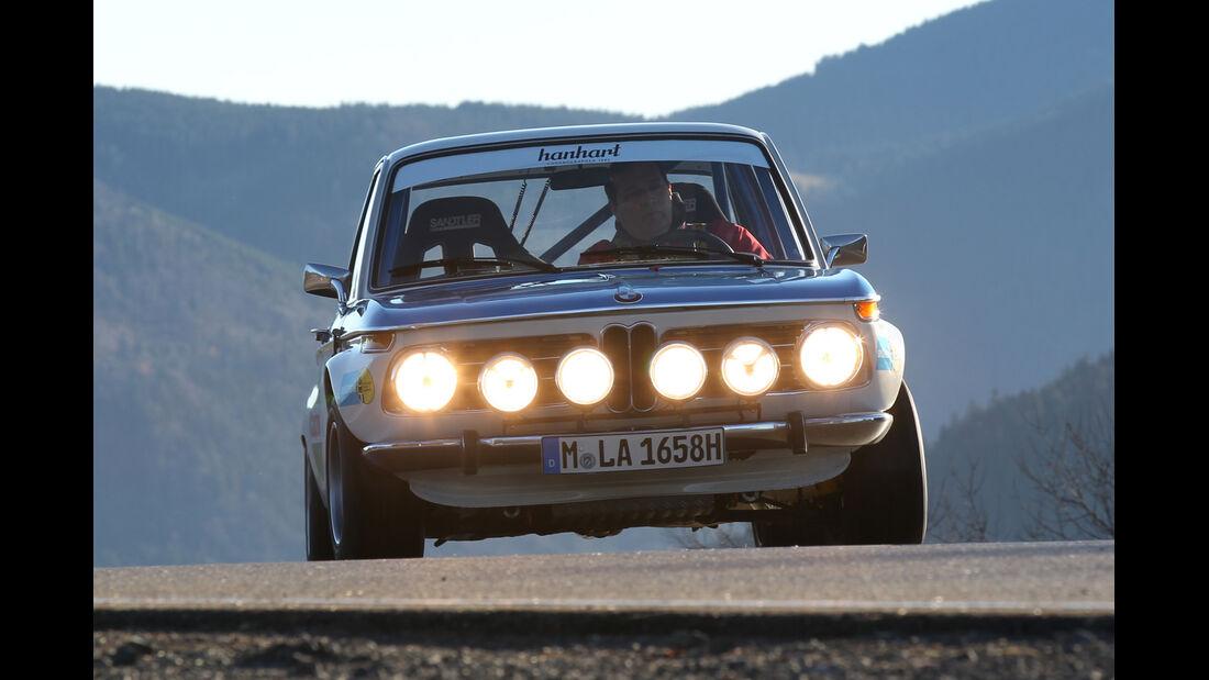 BMW 2002 ti Rallyeversion, Frontansicht