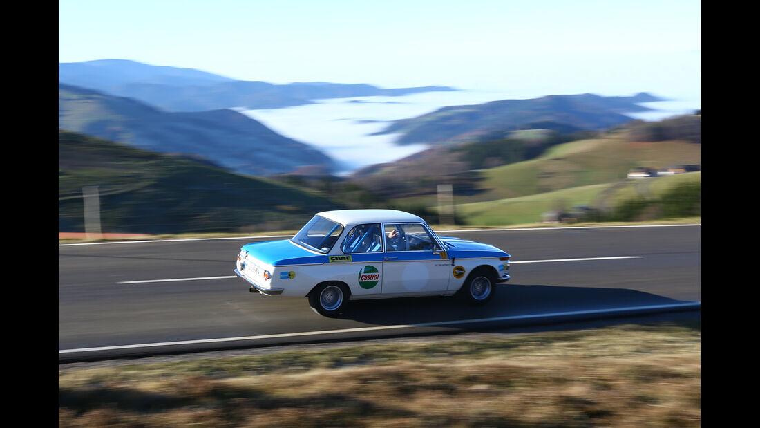 BMW 2002 ti Rallyeversion, Seitenansicht