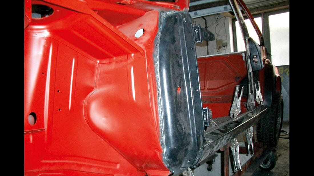 BMW 2002 tii Alpina, A-Säule