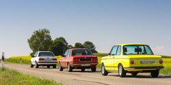 BMW-2002-tii-BMW-323i-BMW-325e-im Fahrbericht