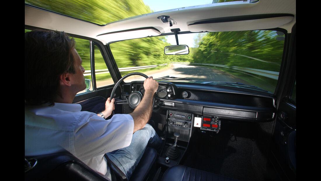 BMW 2002 tii, Cockpit