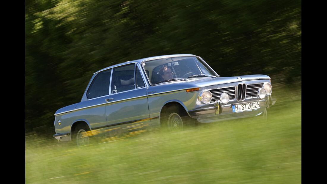 BMW 2002 tii,Seitenansicht