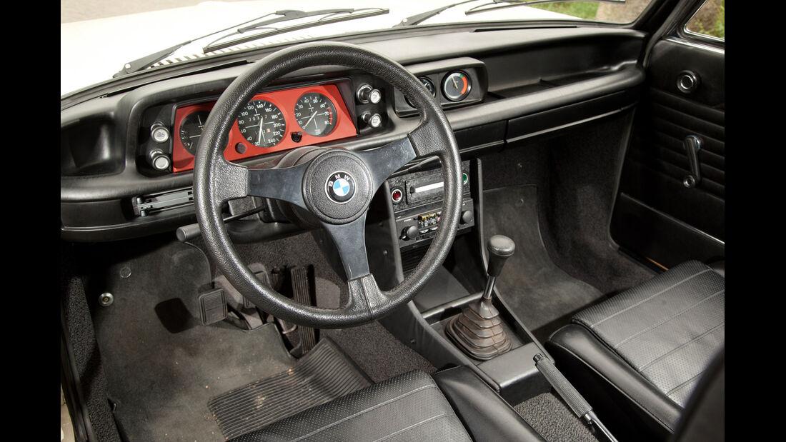 BMW 2002 turbo, Cockpit, Lenkrad