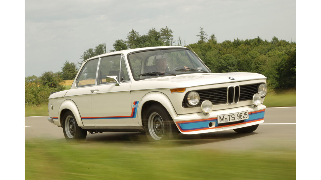 BMW 2002 turbo, Frontansicht