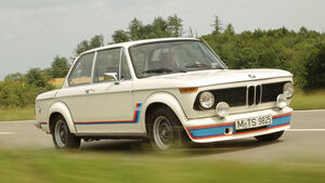 BMW 2002 turbo, Frontansicht