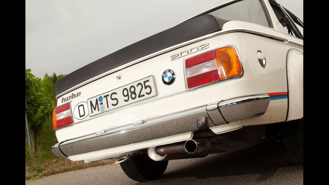 BMW 2002 turbo, Heck, Heckspoiler