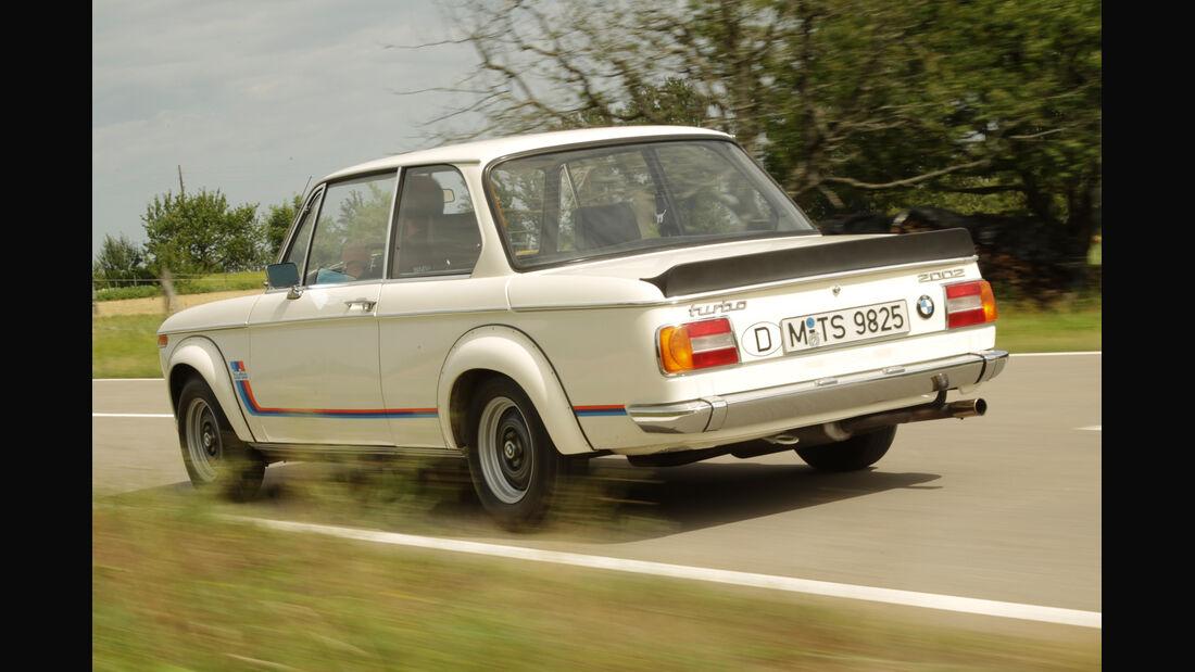 BMW 2002 turbo, Heckansicht