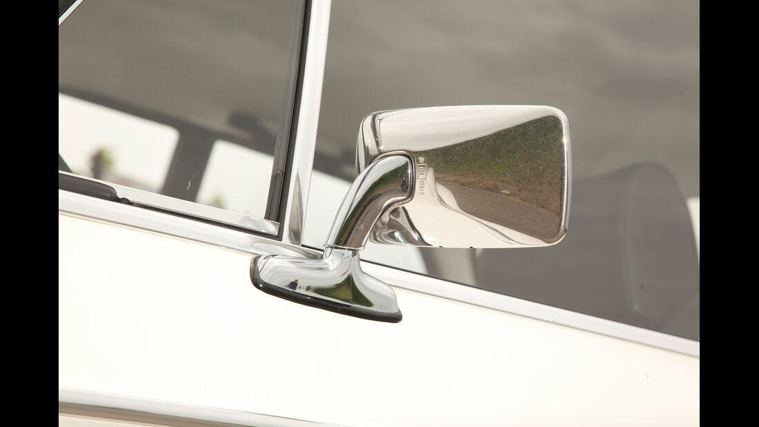 BMW 2002 turbo, Rückspiegel, Seitenspiegel