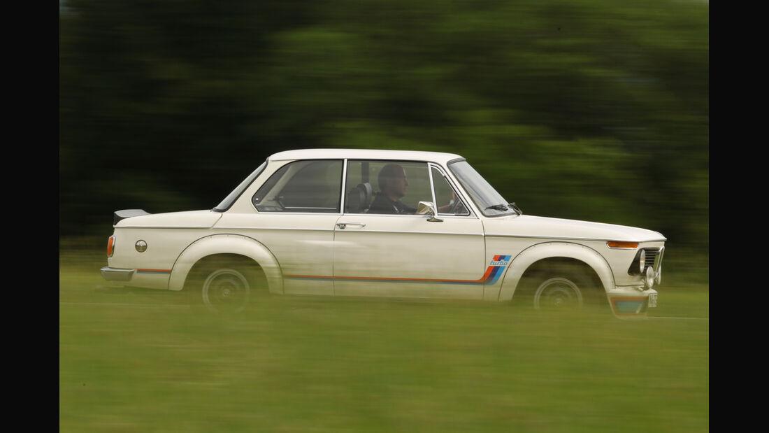 BMW 2002 turbo, Seitenansicht