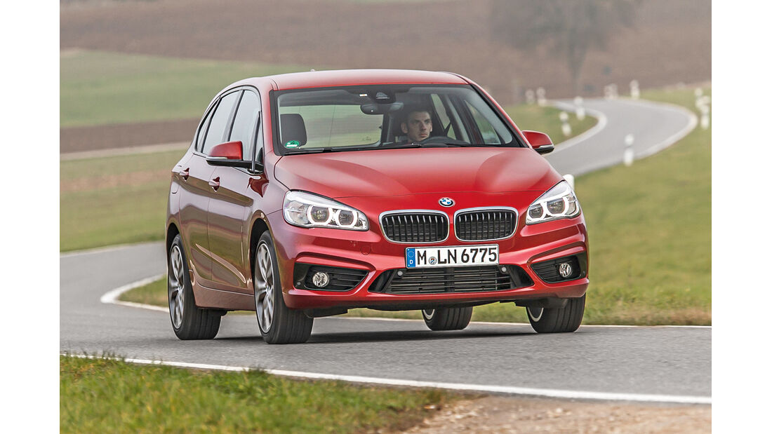 BMW 218d Active Tourer, Frontansicht