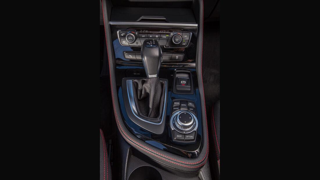 BMW 218d Active Tourer, Mittelkonsole
