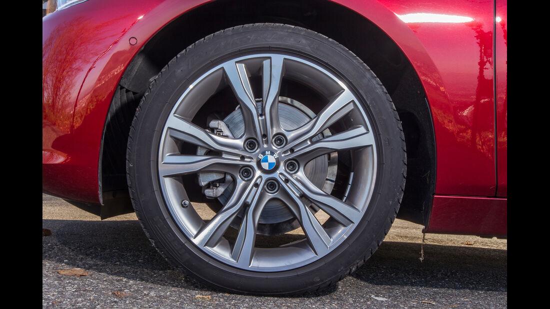 BMW 218d Active Tourer, Rad, Felge