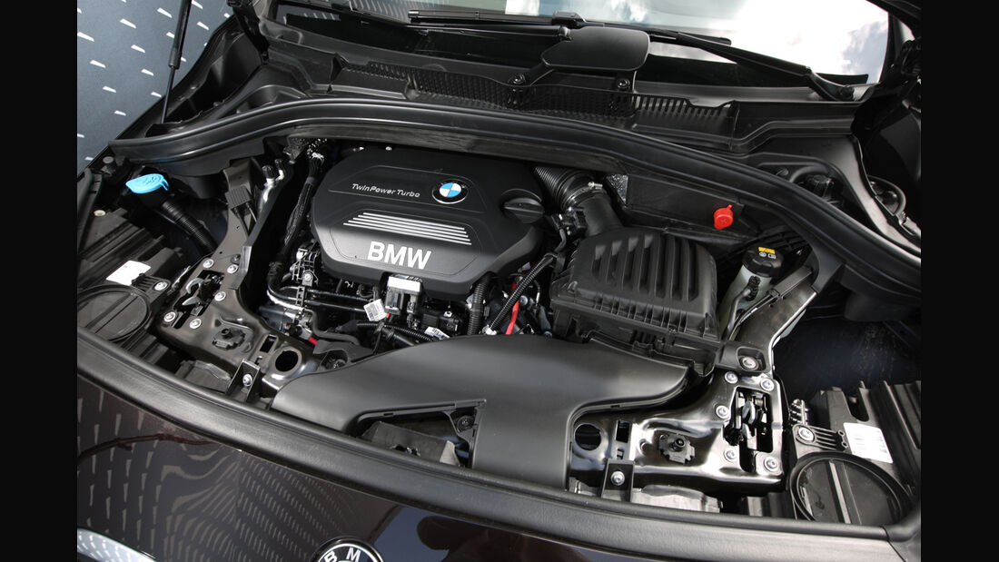 BMW 218d Gran Tourer, Motor