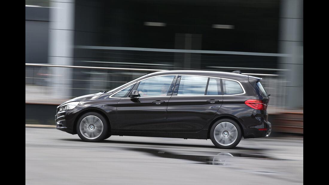 BMW 218d Gran Tourer, Seitenansicht