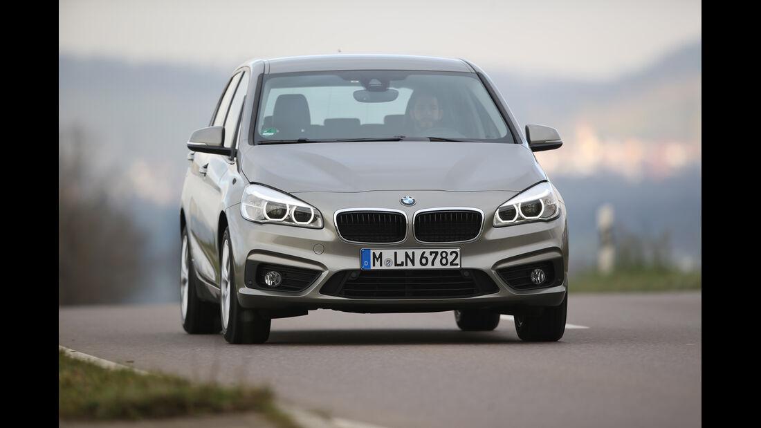 BMW 218i Active Tourer, Frontansicht