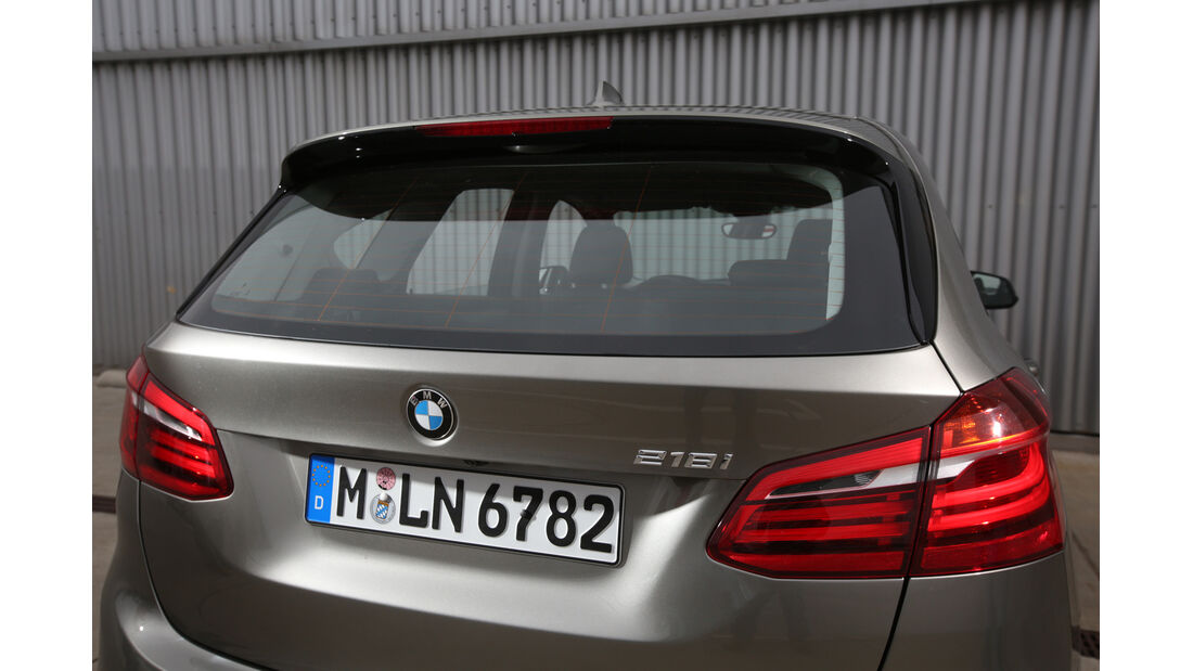 BMW 218i Active Tourer, Heck