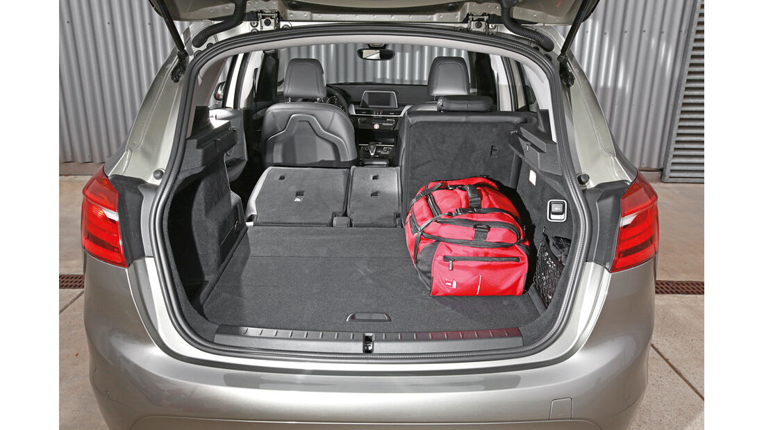 BMW 218i Active Tourer, Kofferraum
