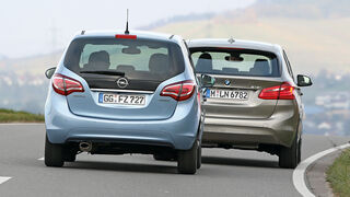 BMW 218i Active Tourer, Opel Meriva 1.4 Innovation