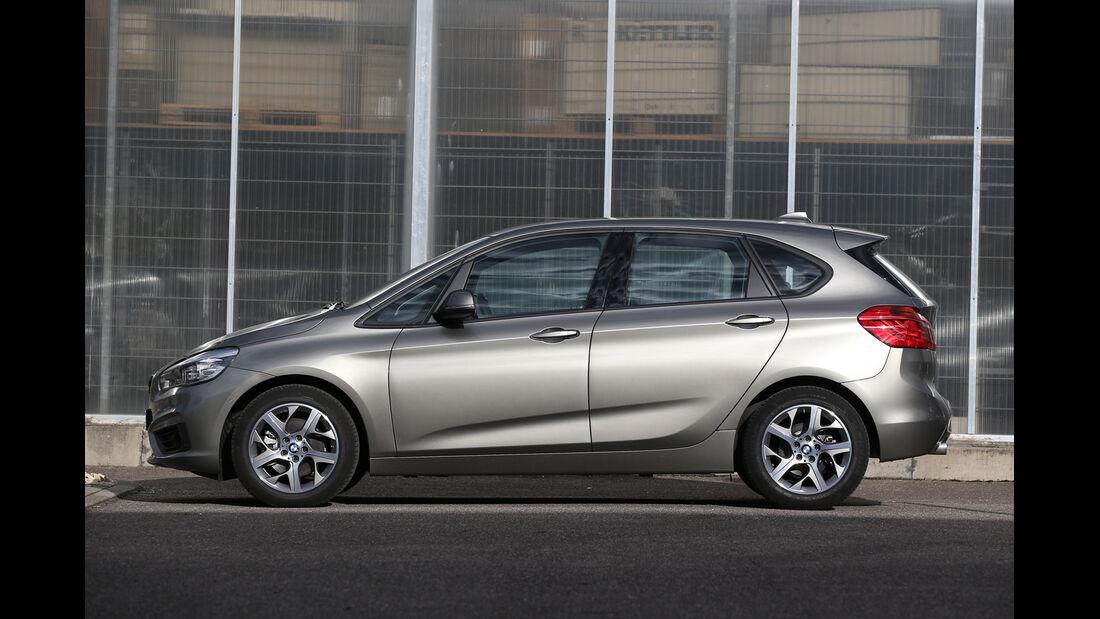 BMW 218i Active Tourer, Seitenansicht