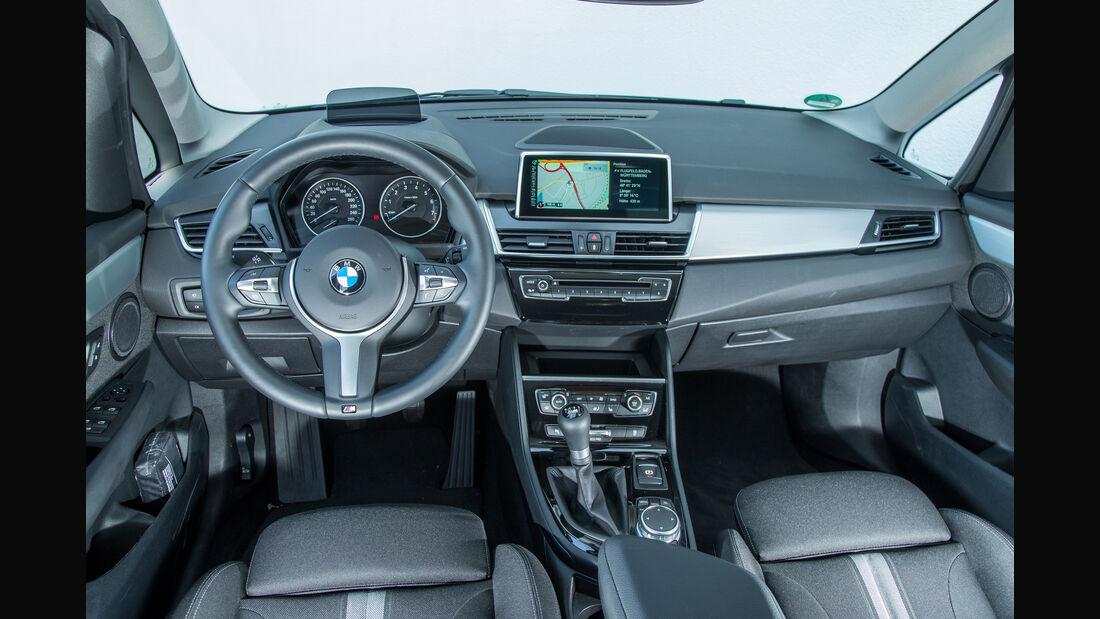 BMW 218i Gran Tourer, Cockpit