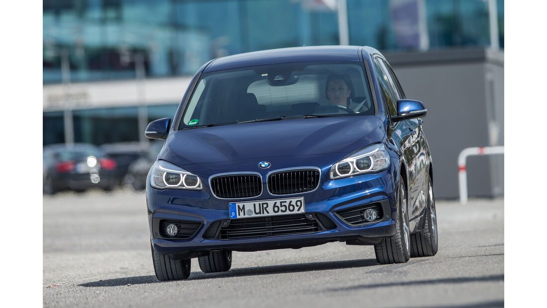 BMW 218i Gran Tourer, Frontansicht
