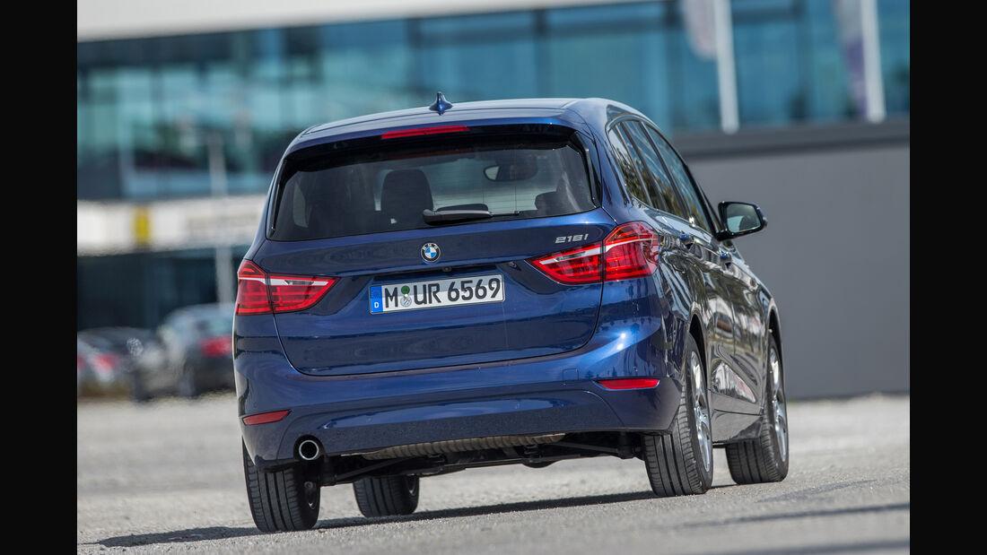 BMW 218i Gran Tourer, Heckansicht