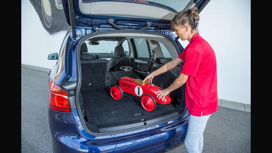 BMW 218i Gran Tourer, Kofferraum