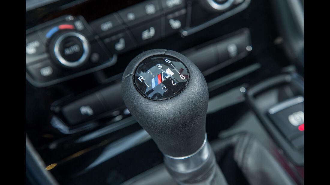 BMW 218i Gran Tourer, Schalthebel