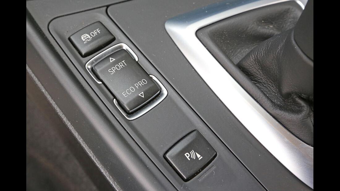 BMW 220d, Bedienelemente