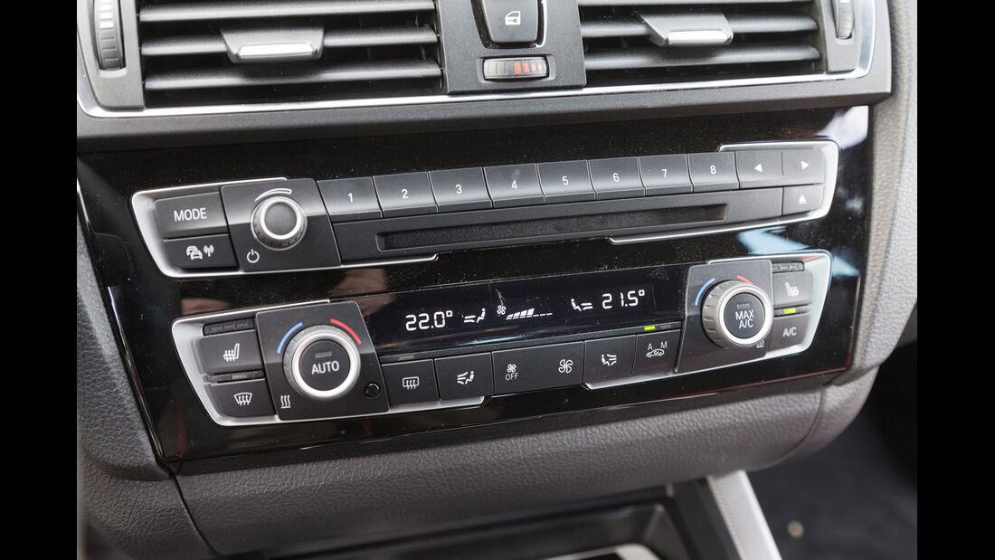 BMW 220d Cabrio, Bedienelemente