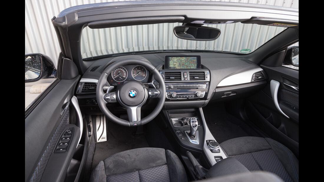 BMW 220d Cabrio, Cockpit