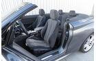 BMW 220d Cabrio, Fahrersitz